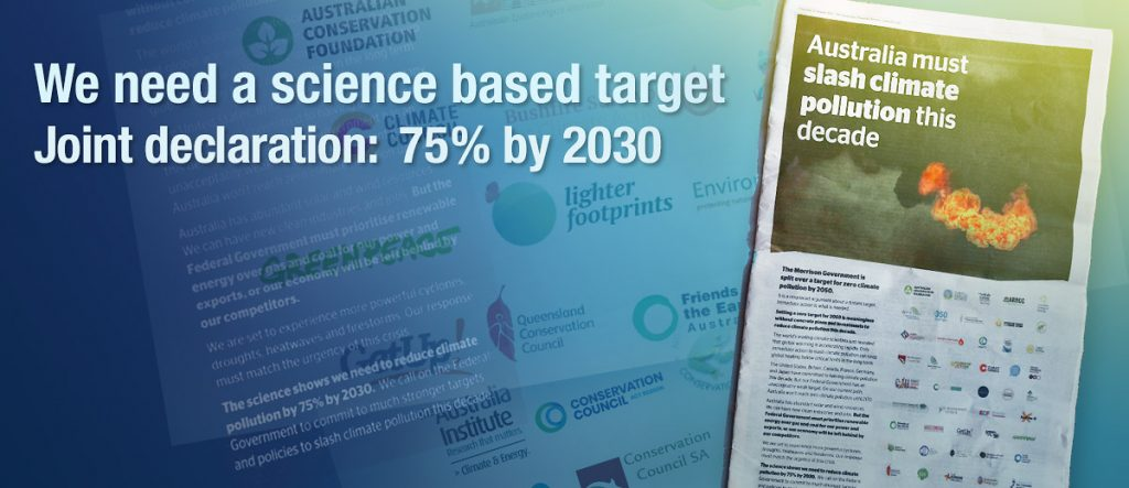 75 by 2030 Joint Declaration by civil society groups