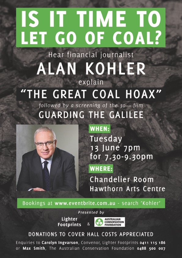 The Big Coal Hoax – Forum wrap-up