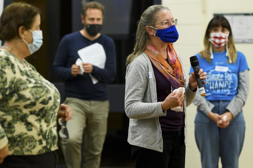 Alison Wright explins why she is willing to become a local climate for change facilitator
