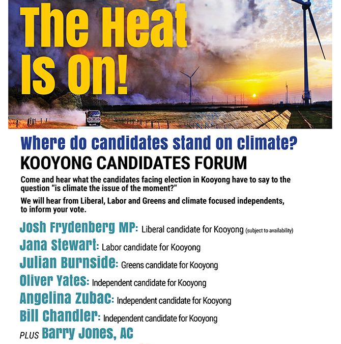 Candidates Forum April 11