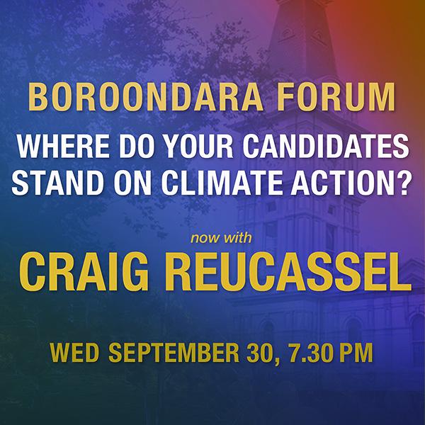 Boroondara Candidates Forum