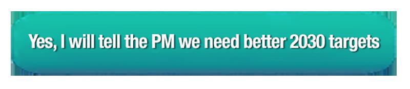 Sign up to flood Scott Morrisons inbox to raise Australia's climate targets