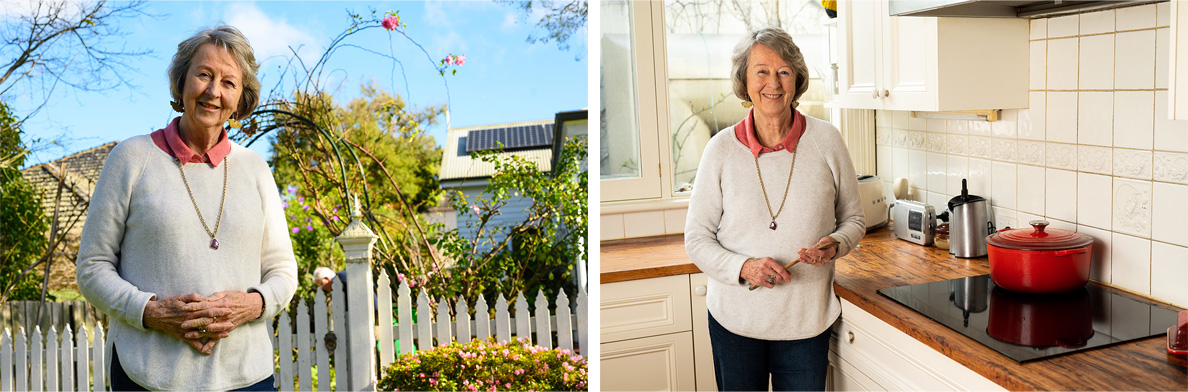 Carolyn Ingvarson has continued move towards an all electric home with a larger solar system