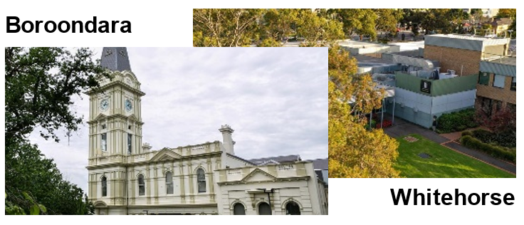 New Councils in Boroondara and Whitehorse