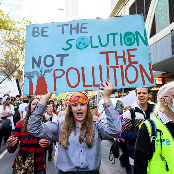 School Strike for Climate – Fund Our Future Not Gas.