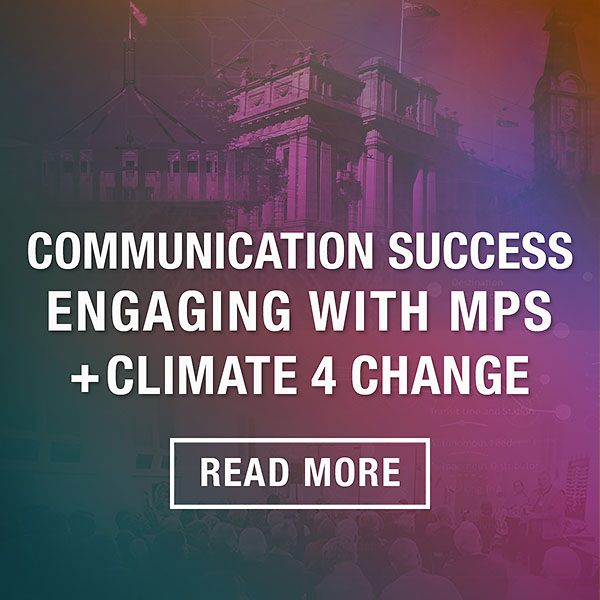 Communication Success: Engaging with MPs blog