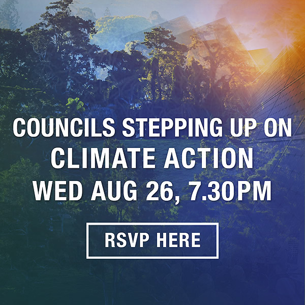 Lighter Footprints event Councils stepping up for climate action