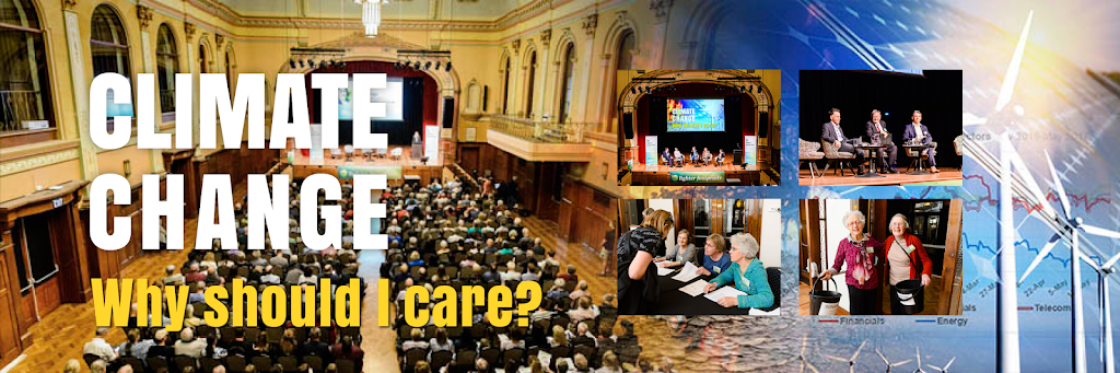 Climate Change: Why should I care? – October forum wrap-up