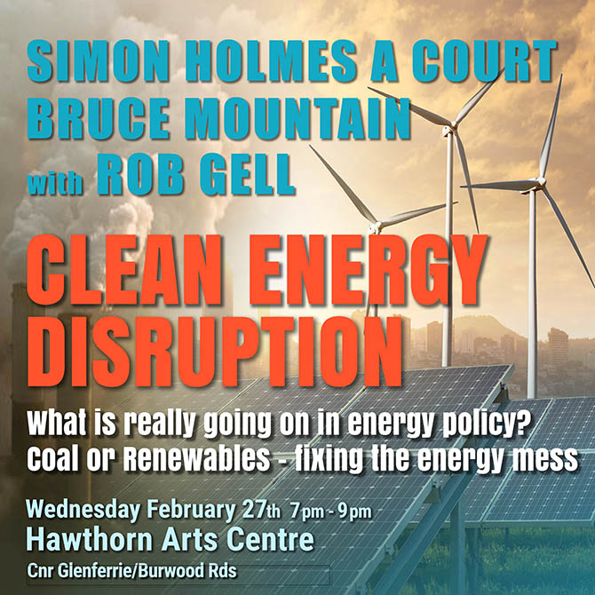 Clean Energy Disruption Forum