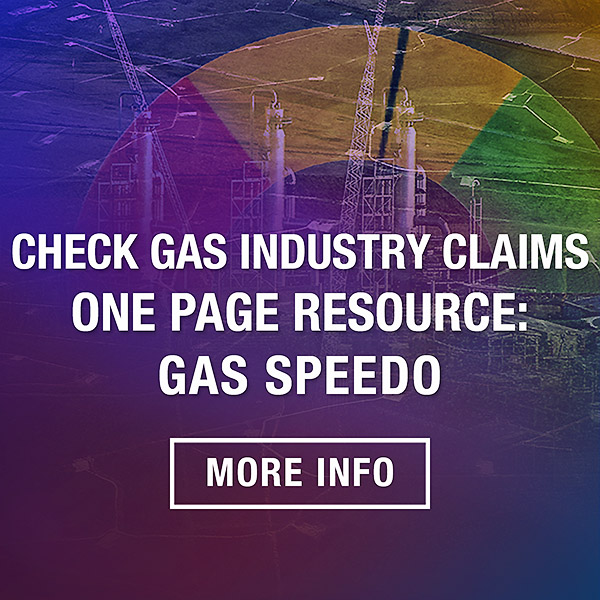 Check Gas Industry Claims One Page Resource Gas Speedo