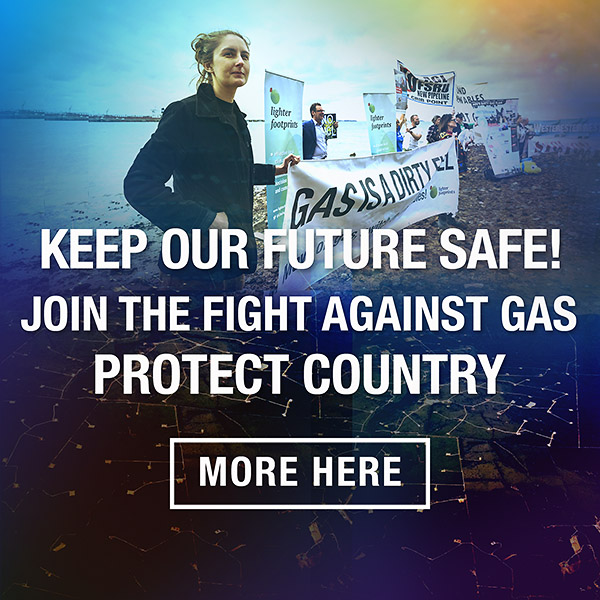 Join the fight against gas- Victorian and National campaigns