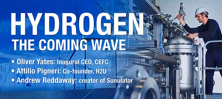 Hydrogen: The Coming Wave
