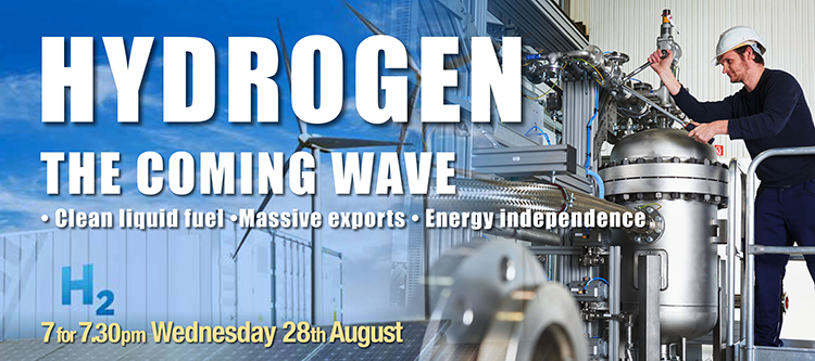 Hydrogen: The Coming Wave – 28th August, 1 Faversham Rd, Canterbury