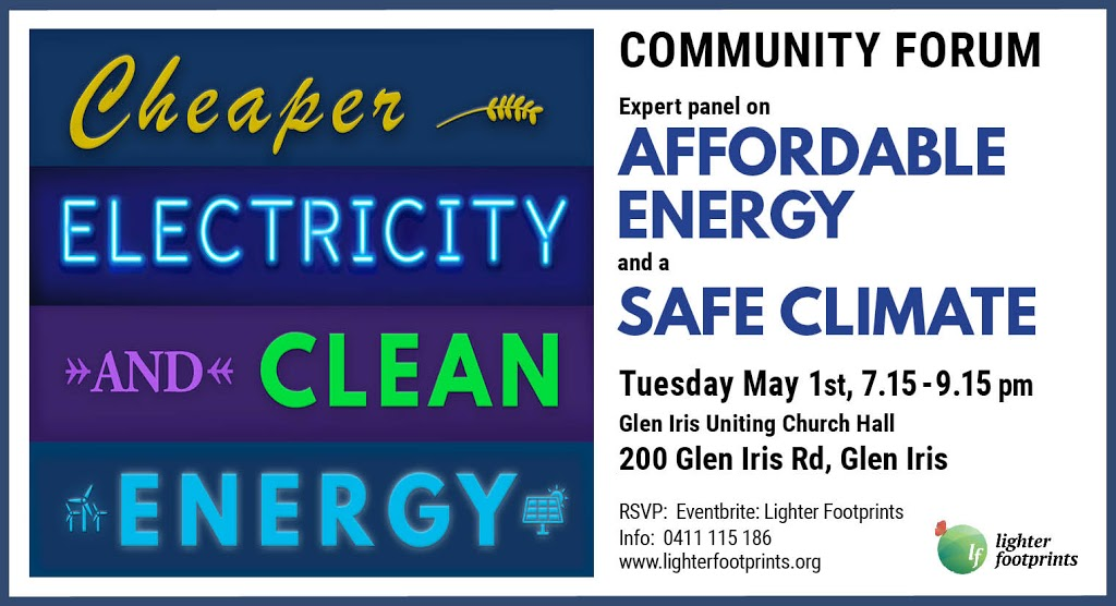 Affordable Energy and a Safe Climate – Community Forum wrap up