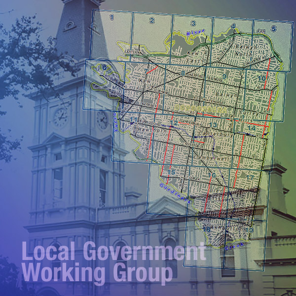 Local Government Working Group, and what we do
