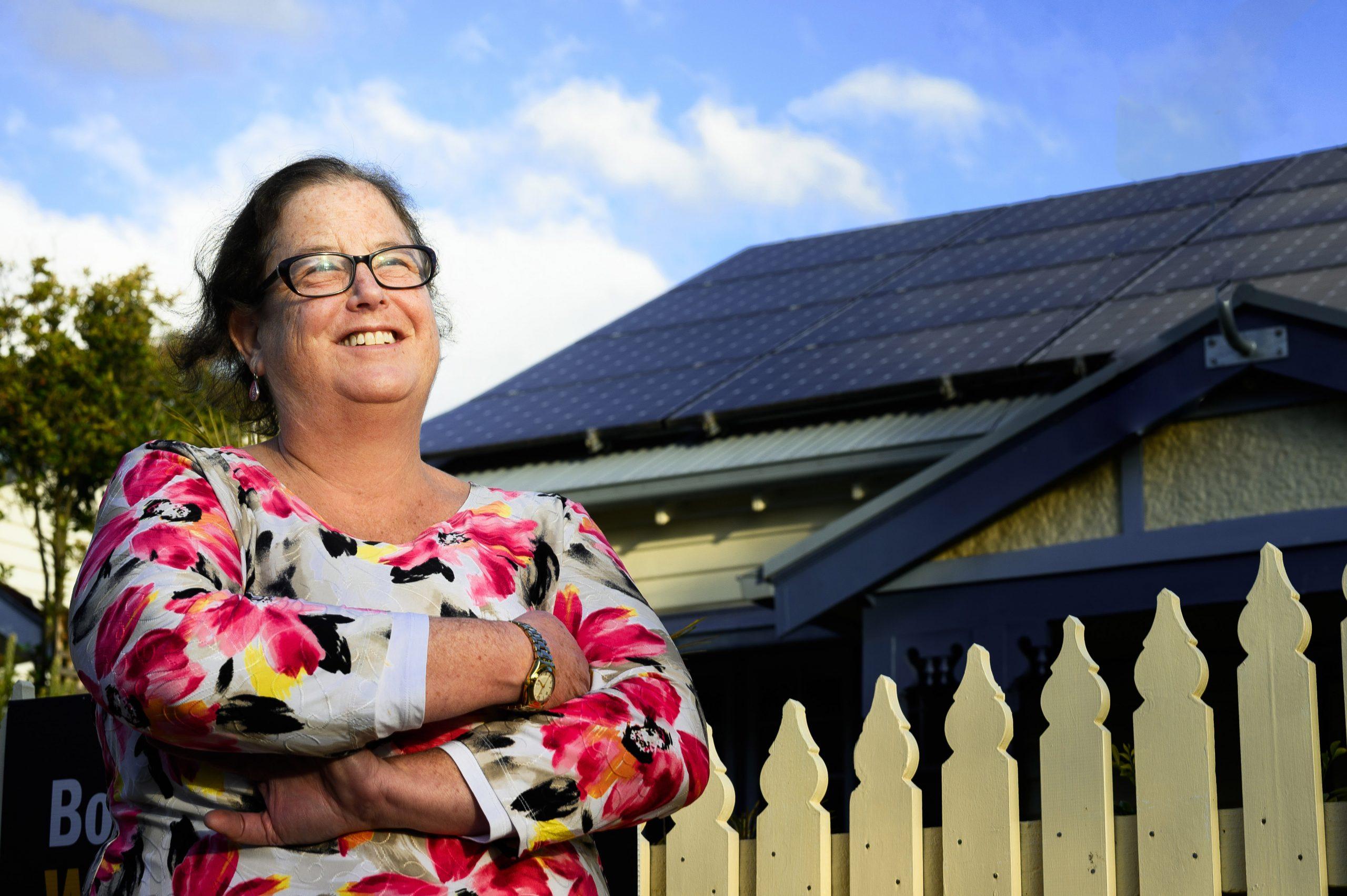 Lynn Frankes has extended her households solar system