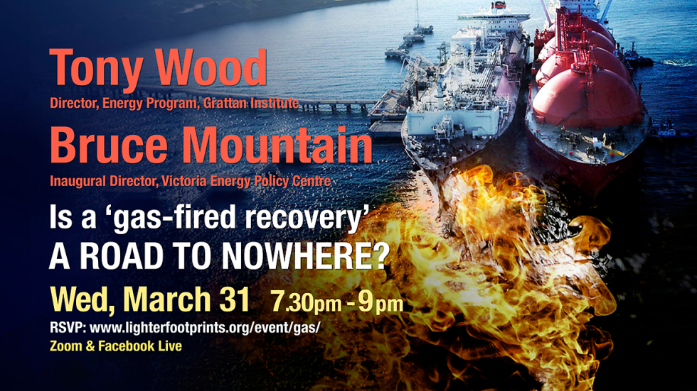 March 31 Gas A Road to Nowhere event