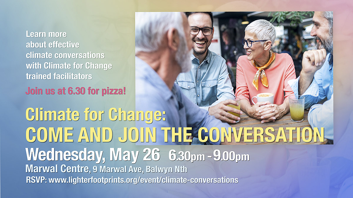 Climate for Change Climate Conversations Event