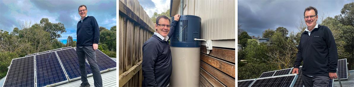 Mick Nolan - solar for household energy