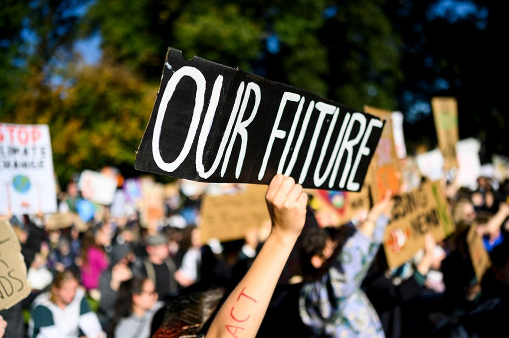 Our Future Kids climate strike