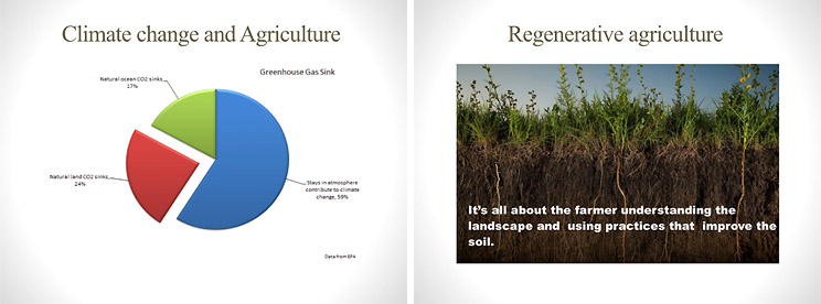 Regenerative agriculture has a huge potential to draw down carbon