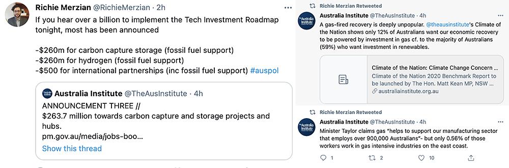 Richie Merzian Budget Tweets