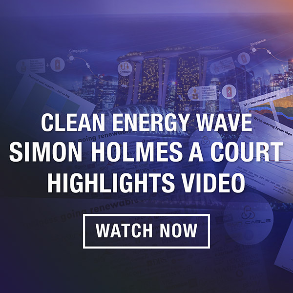 Riding The Clean Energy Wave Simon Holmes A Court Highlights Video