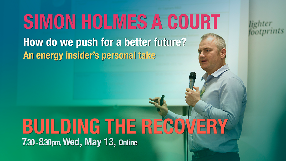 Simon Holmes a Court Building the Recovery Event image