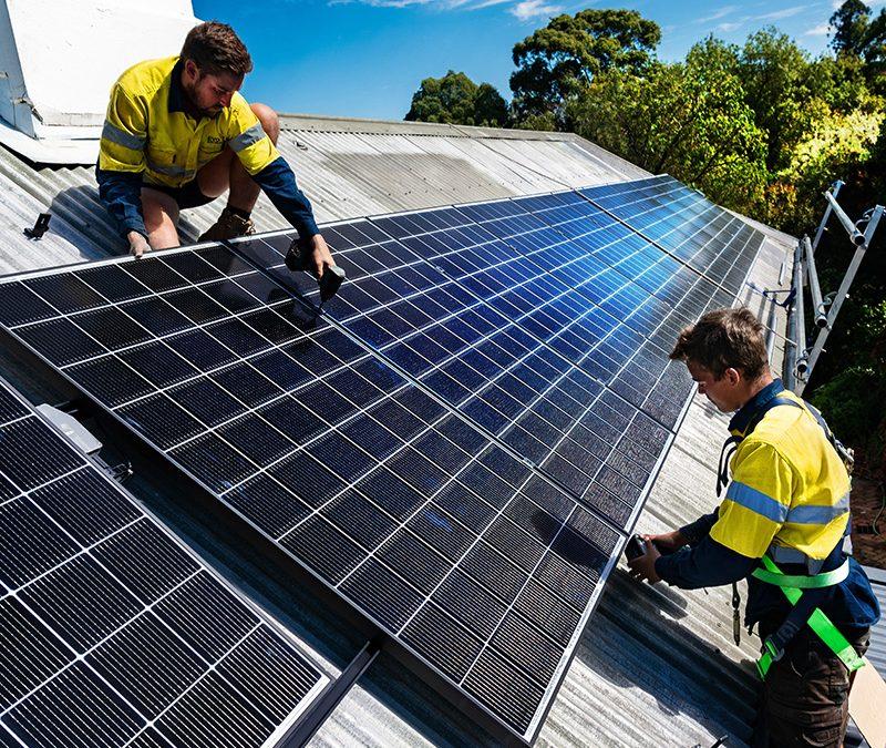 Putting on Solar – Lighter Footprints Solar Stories