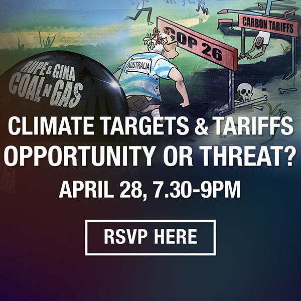 Targets and Tariffs April Lighter Footprints Event