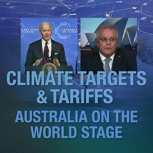 Climate Targets & Tariffs: Australia on the World Stage