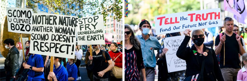 Tell the truth climate strike
