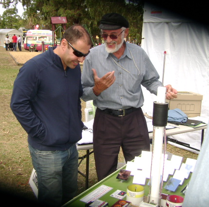 Defending renewable energy at Kew Festival