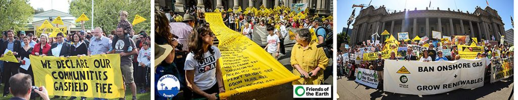 Victorian gas free campaigns from community declarations to statewide action to victory