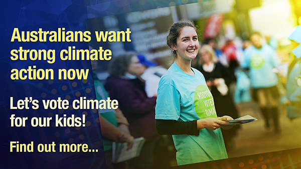 Vote Climate campaigns to help elect strong climate candidates