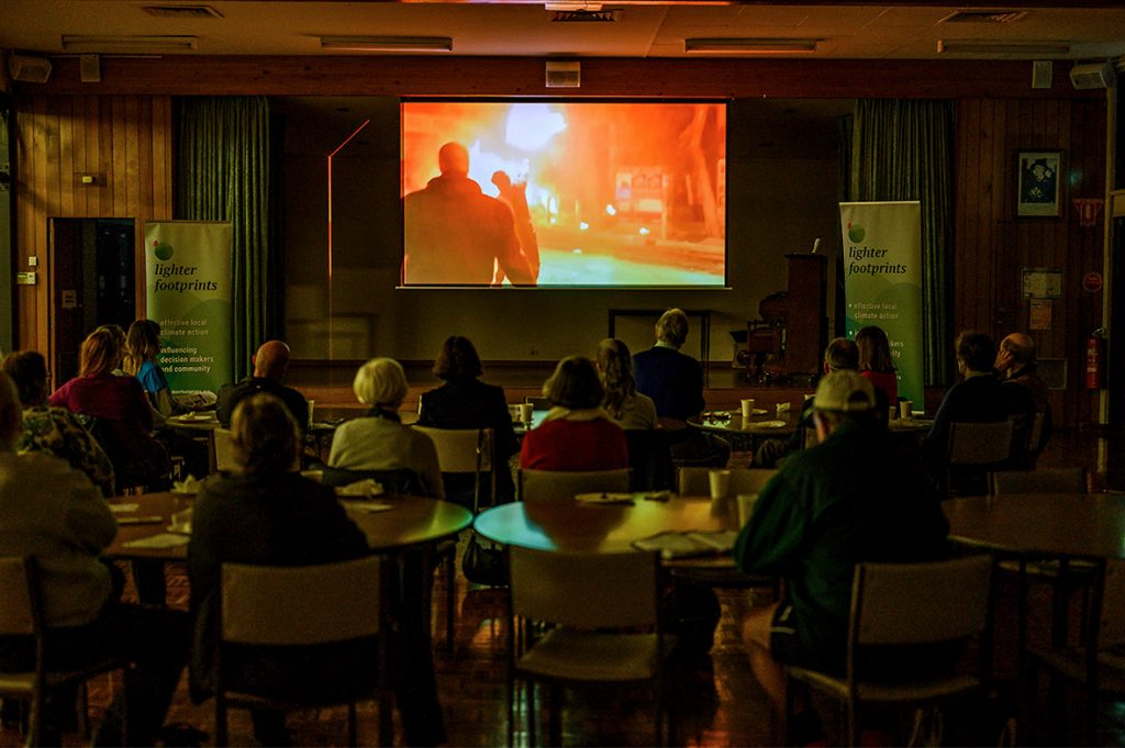 Watching Climate for Changes film about the problems and solutions for climate action