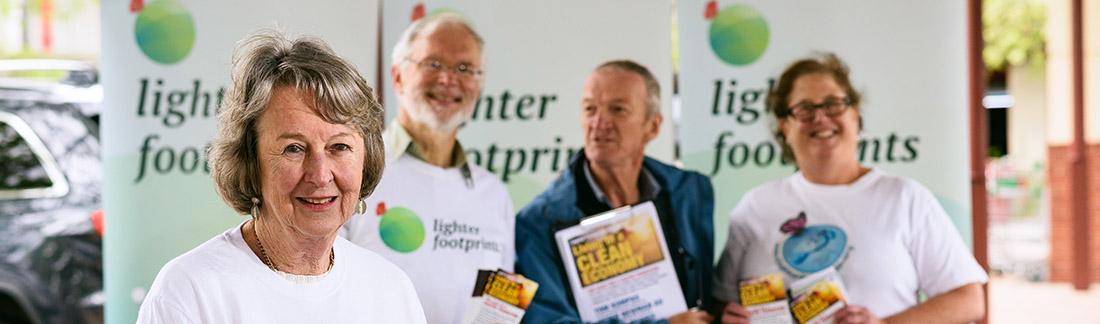 Lighter Footprints Community header image