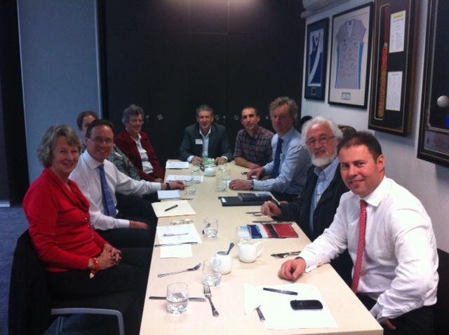 Lighter Footprints meets with Greg Hunt