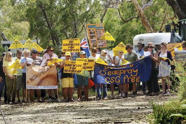 Seaspray Lock the Gate Campaign