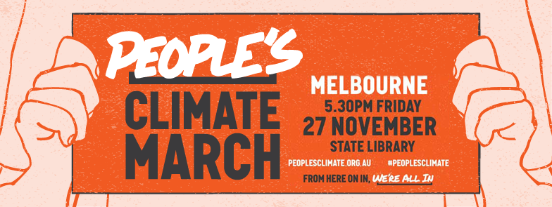Join Lighter Footprints at the People's Climate March Friday 27 November